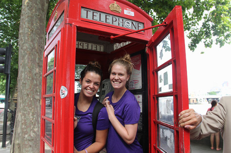 Violets volunteer in UK for NYU Global Initiative