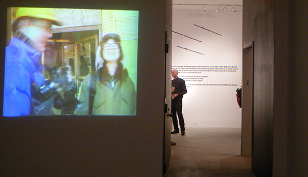 Tony Conrad Film Pieces On Display On Behalf of Steinhardt