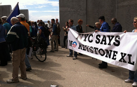 Environmentalists protest against Keystone XL Pipeline