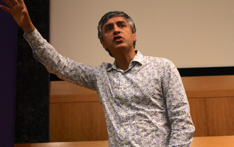 Author Reza Aslan visits NYU to discuss religion, history