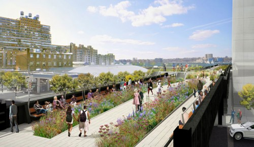 Courtesy City of New York and Friends of the High Line