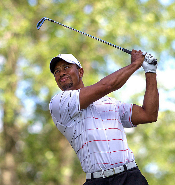 Tiger Woods slowly making comeback