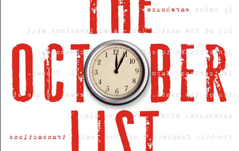 'October List' brings innovation to crime fiction genre