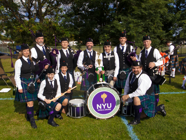 Bag and Pipes community beyond commencement