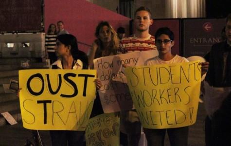SLAM, unions protest NYU Law Met gala