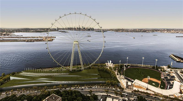 Bloomberg announces plan for record-breaking ferris wheel