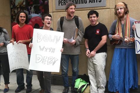 [UPDATE] SLAM protests student debt as university unveils Momentum Campaign