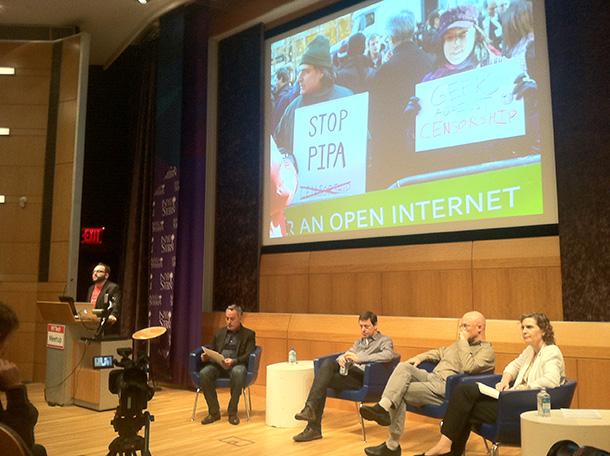 New York tech meetup reflects on Internet freedom