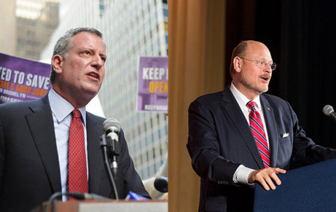 Mayoral General Election Today, Lhota faces off with de Blasio