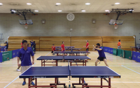 Table Tennis team defends title with win at NCTTA divisional round