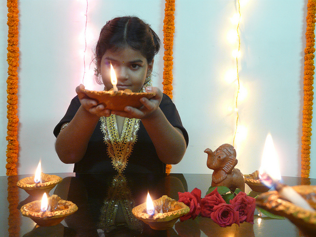 How to celebrate Hindu festival of lights at home