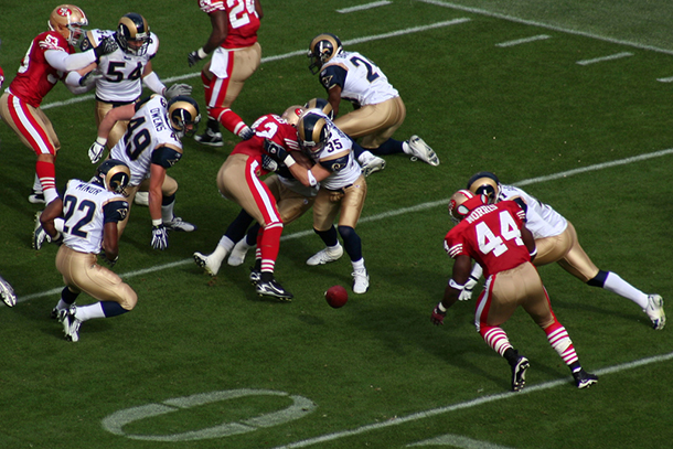 NFL loses when games end in draw