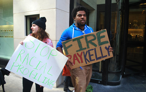 Students protest Barneys' alleged racial discrimination
