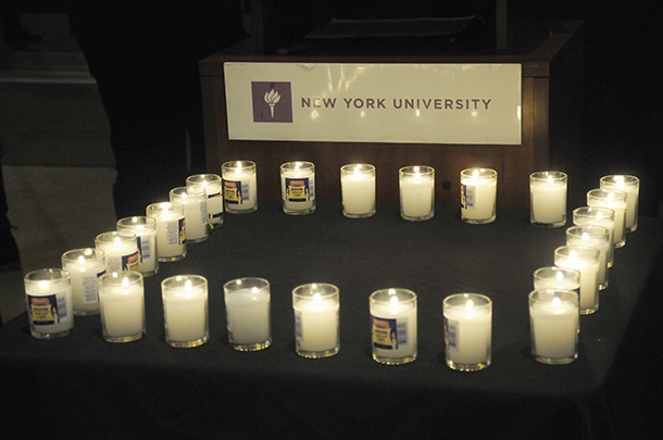 GALLERY: NYU Vigil for Newtown, 12/17