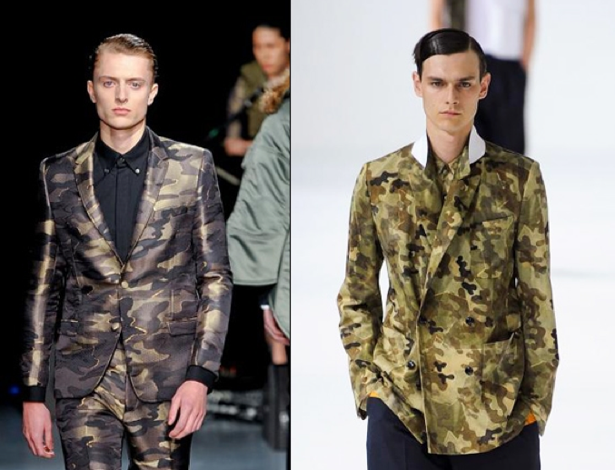 Tricky trend: go military-chic in camouflage pants
