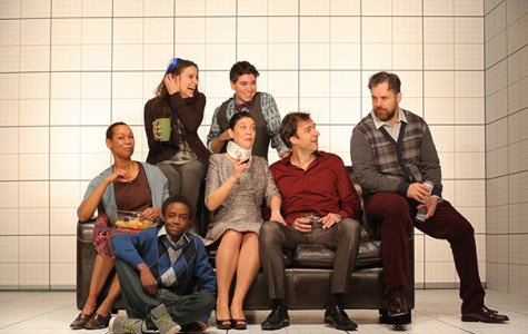Information overloads stage in Off Broadway play