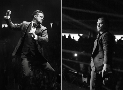 Timberlake brings sexy back to NYC