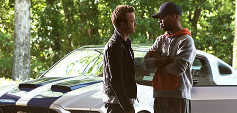 Aaron Paul helps kick 'Speed' into gear