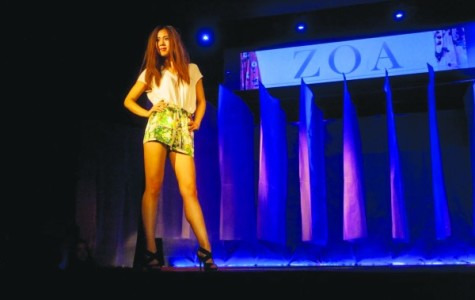 Students strut, give back at fashion show
