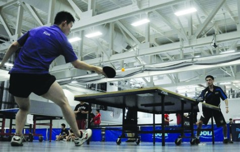 Table tennis team slams competition