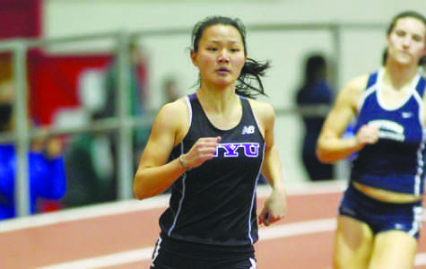 Golf, track teams impress over weekend
