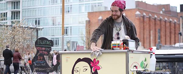 High Line food carts spice up spring