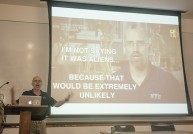 Prof explains genetics, Bigfoot