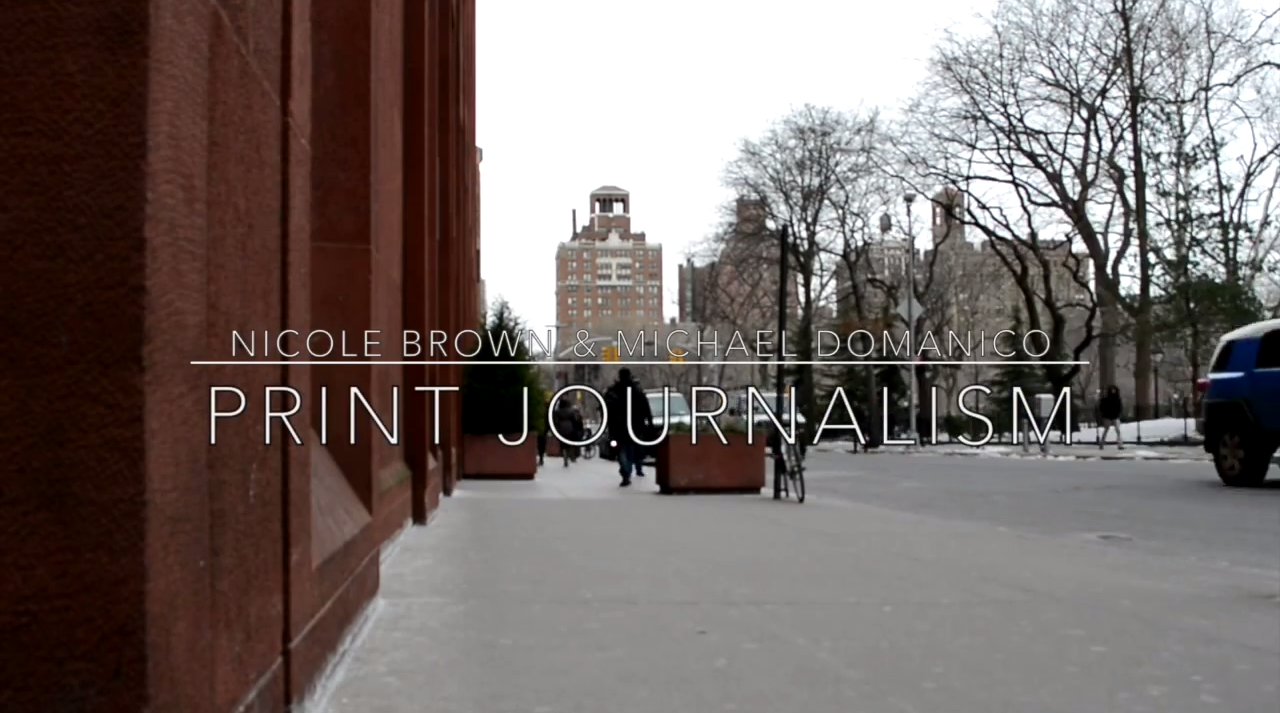 [VIDEO] Op Ed Live: Print Journalism