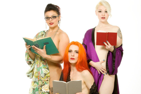 Burlesque meets literature on stage