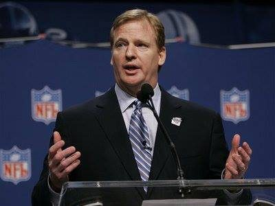 NFL commissioner faces league struggles