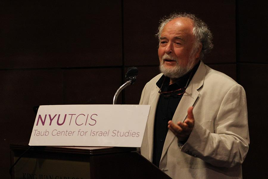 Peace  scholar speaks at NYU
