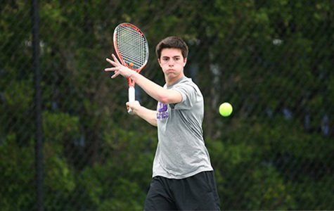 Men's tennis ends season strong