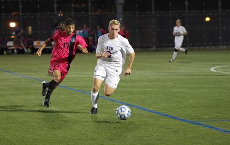3-2 victory for Men's soccer