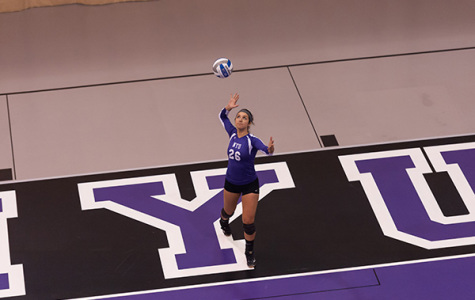 Volleyball sweeps Violet Classic