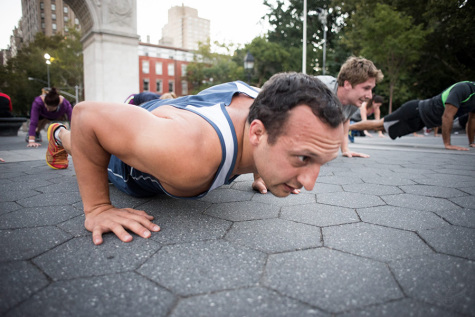 Free workout program offers unique outdoor exercise