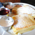 Blintzes, thin pancakes with a creamy filling, are sold at Veselka.
