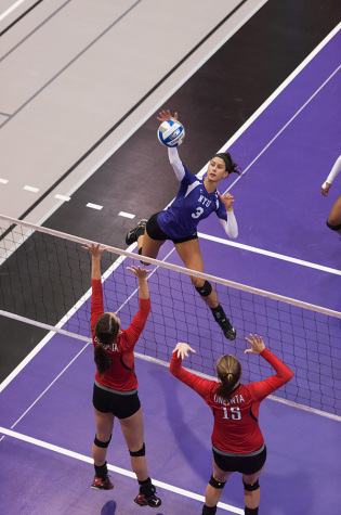 Volleyball star discusses leadership