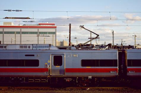 A train ride away
