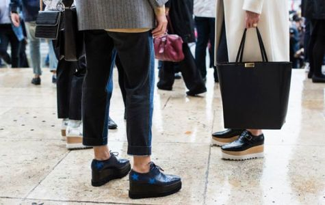 Menswear-style flats new, comfortable fall trend
