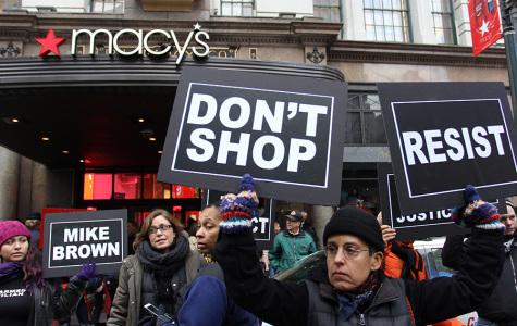 Protesters attempt to disrupt Black Friday sales