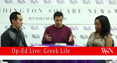[VIDEO] Op-Ed Live: Fraternity Culture