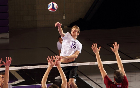 Men's volleyball improves ranking