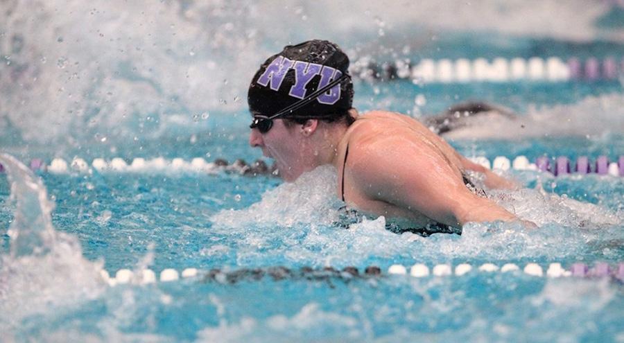 For seniors who swim, final meet bittersweet