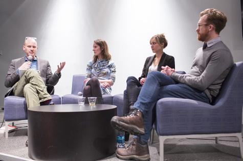 Journalists discuss reporting sensitive topics
