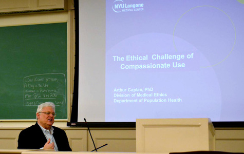 Panel discusses ethics  of experimental drugs
