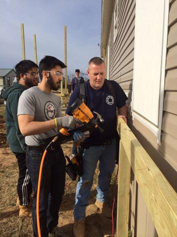 Service trip brings groups together