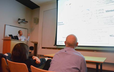 Darwin lecture looks at evolution of viruses