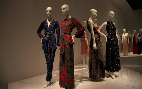 Designers Yves Saint Laurent, Halston showcased in FIT exhibit