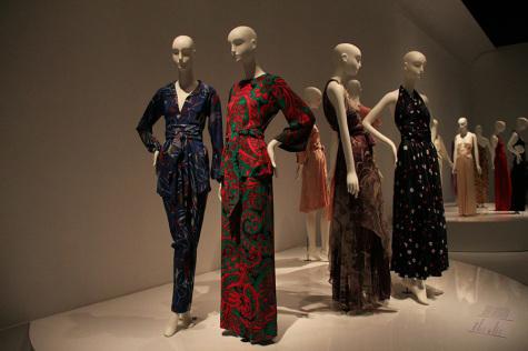 Designers Yves Saint Laurent, Halston showcased in FIT exhibit