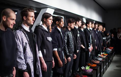 Men's fashion takes center stage